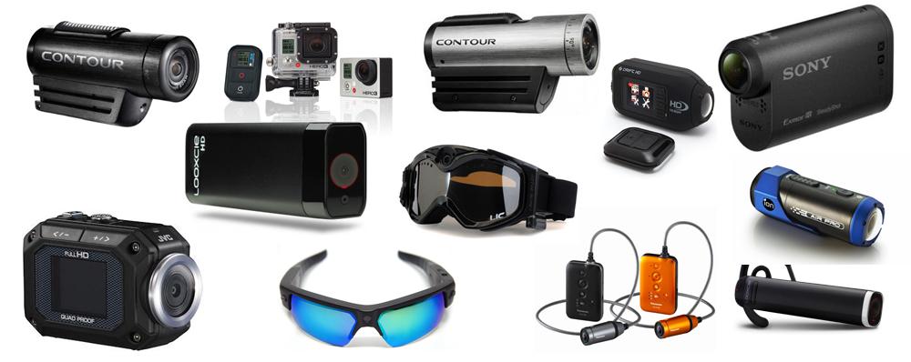 ウェアラブルビデオカメラ